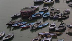 Vista aérea del río de Ganga
