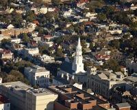 Vista aérea del sc de Charleston Imagen de archivo libre de regalías