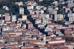 Vista aérea del spezia del la Fotos de archivo