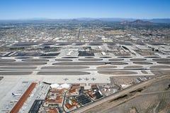 Aeroporto do porto do céu Fotos de Stock Royalty Free