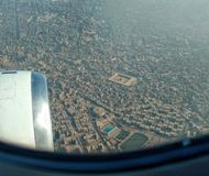 Vista aérea do Cairo Egito fotos de stock
