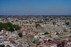Vista aérea do convento de San Gabriel Imagens de Stock