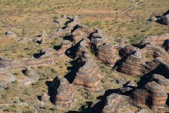 A vista aérea do estraga estraga, Austrália Ocidental imagem de stock royalty free