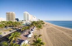 Vista aérea do Fort Lauderdale Fotografia de Stock Royalty Free
