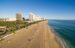 Vista aérea do Fort Lauderdale Imagem de Stock