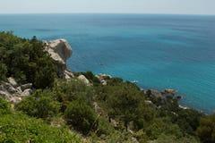 Vista aérea do mar Foto de Stock