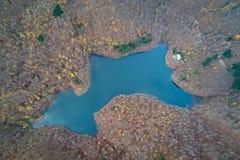 Vista aérea do oko de Morske, Eslováquia imagens de stock