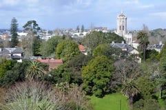 Vista aérea do parque de Albert em Auckland Imagem de Stock Royalty Free
