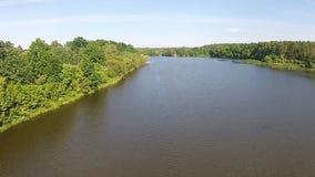 Vista aérea do rio atual filme