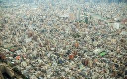 Vista aérea do Tóquio Imagem de Stock Royalty Free