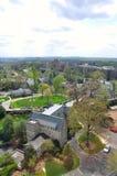 Vista aérea do Washington DC, EUA Imagens de Stock Royalty Free