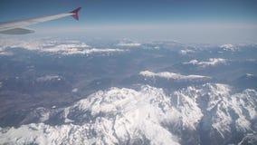 Vista aérea dos cumes filme