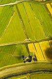 Vista aérea dos Países Baixos foto de stock