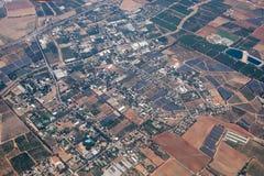 Vista aérea em distritos centrais de Israel Foto de Stock Royalty Free