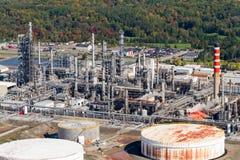 Vista aérea industrial Imagens de Stock Royalty Free