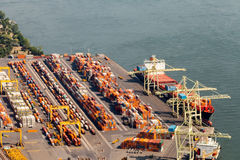 Vista aérea industrial Fotos de Stock