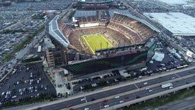 Vista aérea Lincoln Financial Field Philadelphia filme