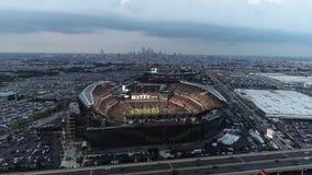 Vista aérea Lincoln Financial Field Philadelphia vídeos de arquivo