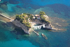 Vista aérea no console de Zakynthos Fotografia de Stock Royalty Free