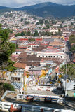Vista aérea a San Cristobal de Las Casas, México Fotografia de Stock Royalty Free