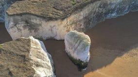Vista aérea sobre a baía da Botânica em Kent imagens de stock