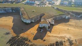 Vista aérea sobre a baía da Botânica em Kent imagens de stock royalty free