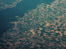 Vista aérea surpreendente Fotografia de Stock Royalty Free
