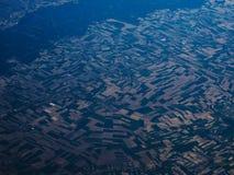 Vista aérea surpreendente Imagem de Stock