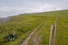 O trajeto sul da costa oeste em Dorset Imagem de Stock