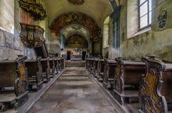 vista abbandonata della chiesa Fotografia Stock Libera da Diritti