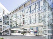 Vista abstracta de edificios fotografía de archivo libre de regalías
