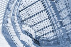 Vista abstracta de edificios imagen de archivo libre de regalías