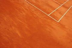 Vista abstracta de un campo de tenis fotografía de archivo libre de regalías
