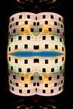 Vista abstracta del edificio del Nasdaq Fotos de archivo libres de regalías