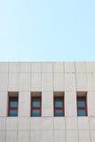 Vista abstracta del edificio moderno Fotos de archivo