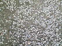 Vista abstrata de pedras cinzentas pequenas Imagem de Stock