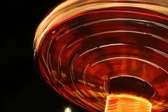 Vista abstrata do merry-go-round Foto de Stock