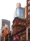 Vista acima da 42nd rua Imagem de Stock Royalty Free