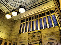 Vista acima na arquitetura Imagem de Stock Royalty Free