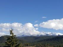 Vista acima na montanha Foto de Stock