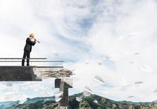 Vista acima para maneiras novas de solução dos problemas Imagem de Stock Royalty Free