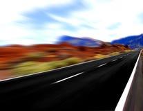 Vista ad alta velocità Fotografia Stock Libera da Diritti