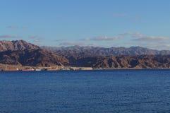 Vista ad Aqaba Fotografie Stock Libere da Diritti