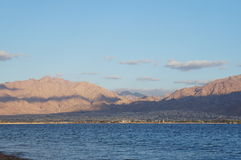 Vista ad Aqaba Fotografie Stock