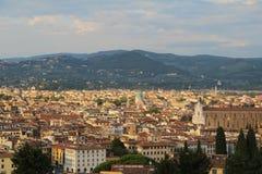 Vista adorabile di Firenze, Italia Fotografia Stock Libera da Diritti