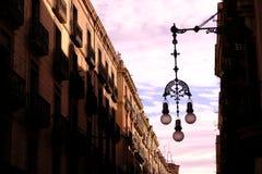Vista adornada de Barcelona Imágenes de archivo libres de regalías