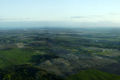 Vista aerea 2 fotografia stock
