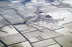 Vista aerea Fotografie Stock Libere da Diritti