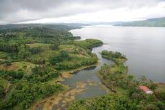 Vista aerea in Costa Rica Fotografie Stock
