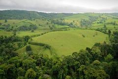 Vista aerea in Costa Rica Fotografia Stock Libera da Diritti